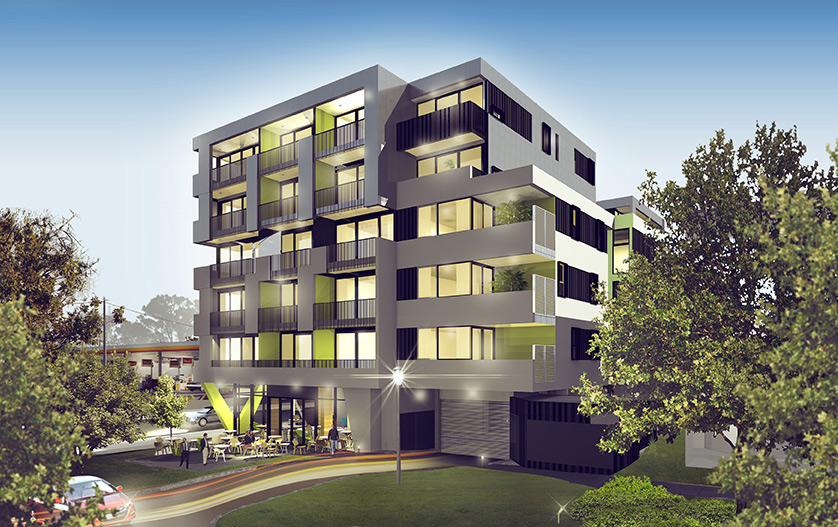 12-18 Napier St | Moull Murray Architects